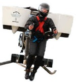 image of man flying with jetpack